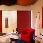 Massage Therapy room in day spa, blue lotus ruidoso