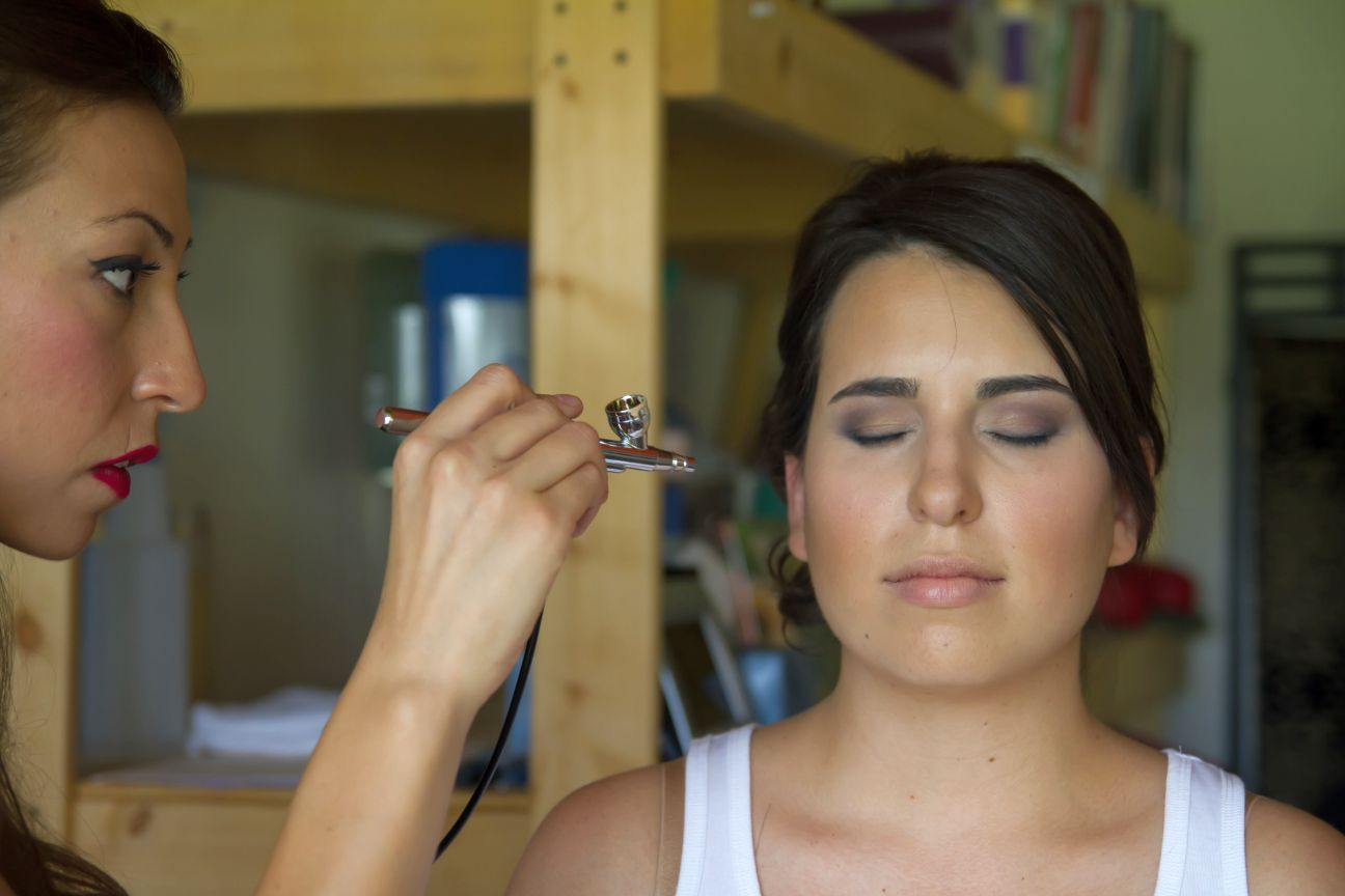 Wedding Day Makeup Apply : Make-up and Bridal Blue Lotus